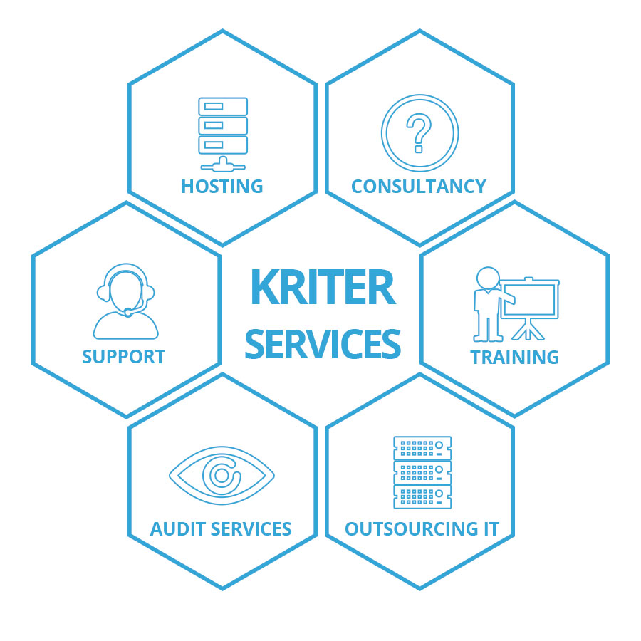 kriter software. Servicios IT. ERP. CRM