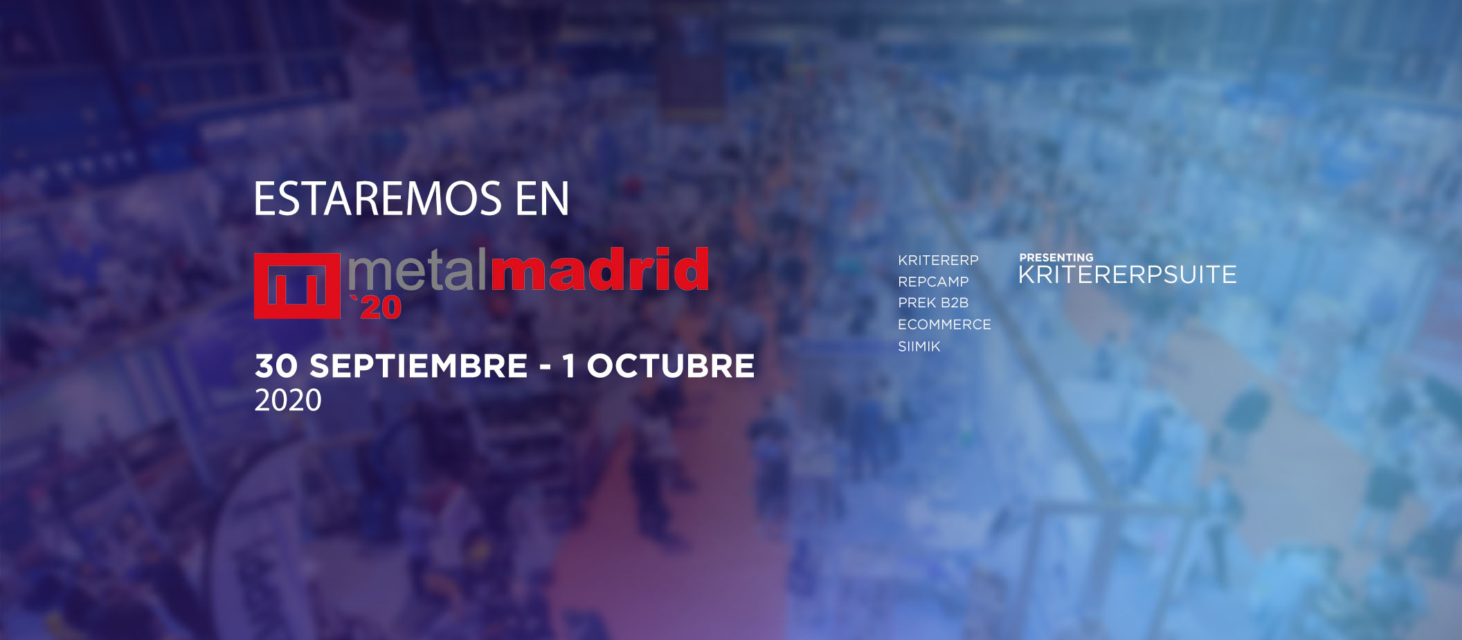 KRITER SOFTWARE EN METALMADRID 2020