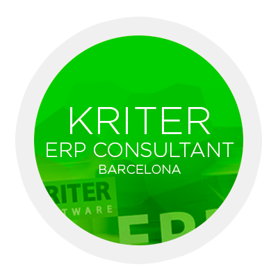 KRITER ERP Consultant Barcelona. Software. CRM