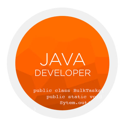 Java Developer. Kriter software.