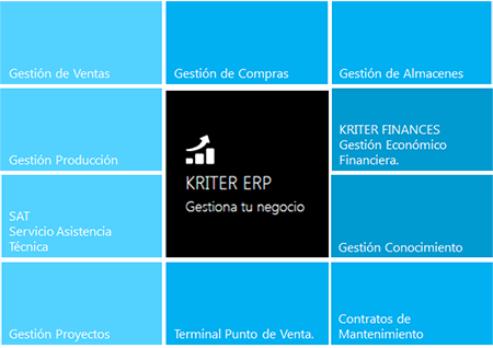 kriter software. Pymes.  ERP. CRM