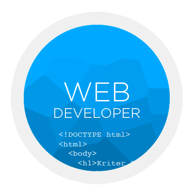 Web Developer. kirter software